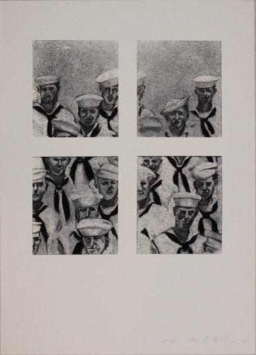 Richard ARTSCHWAGER - Estampe-Multiple - Matrosen