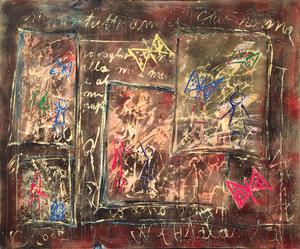 Vittorio BELLINI - Peinture - La festa delle farfalle, 2007