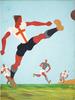 Bruno ANGOLETTA - Pintura - Calcio