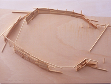 Tadashi KAWAMATA - Sculpture-Volume - Mallorca Project Plan 6