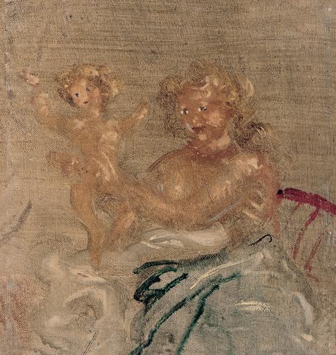 André DERAIN - Painting - Maternité, 1938-40