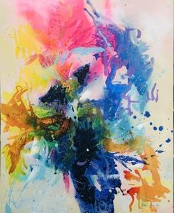 Nicole LEIDENFROST - Gemälde - Die Orchidee