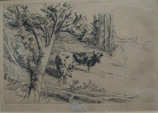 Francis SEYMOUR-HADEN - Print-Multiple - The Keep