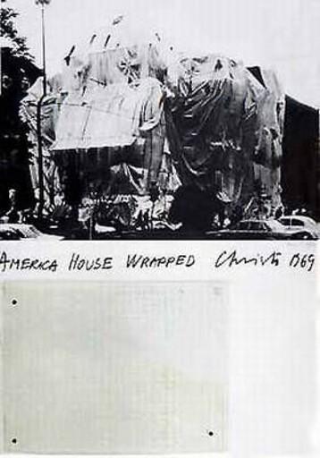 CHRISTO - Print-Multiple - America House, Heidelberg