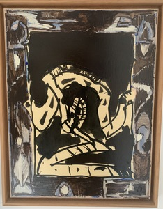 Pierre ALECHINSKY - Peinture - Argile d'ombre