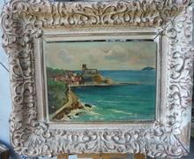 Angelo BALBI - Pintura - Vista Costera (1)