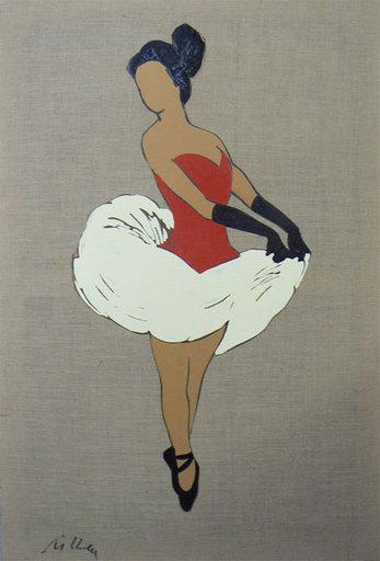 Marco LODOLA - Pittura - Ballerina