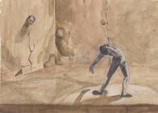 Vasilij Dmitrovic ERMILOV - Drawing-Watercolor