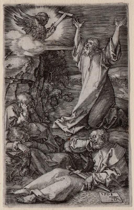 Albrecht DÜRER - Print-Multiple - Cristo sul Monte degli Ulivi