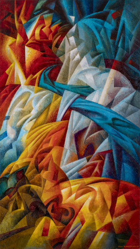 Ivan TURETSKYY - Peinture - Peradventure calling.