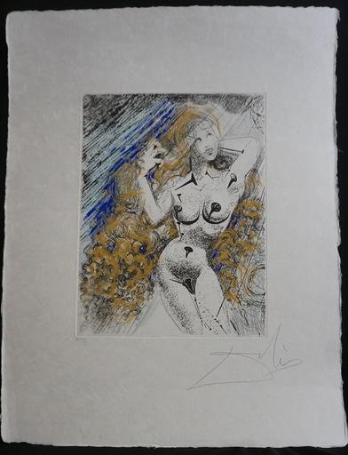 Salvador DALI - Grabado - Marilyn