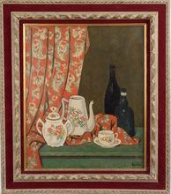 Georges ASCHER - Pintura - Tabletop Still Life