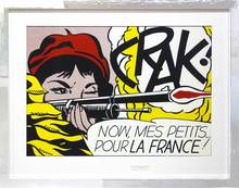 Roy LICHTENSTEIN - Estampe-Multiple - Crak!