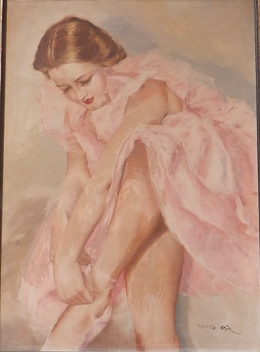 Pal FRIED - Pintura - Ballerina
