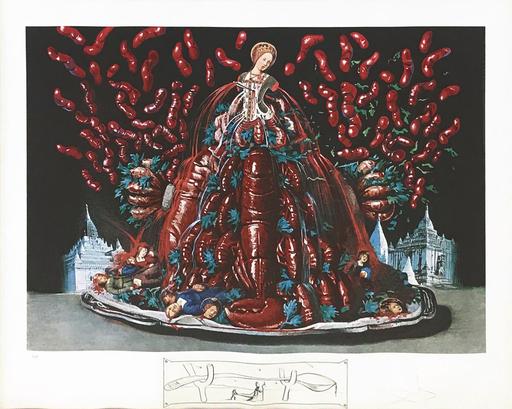萨尔瓦多·达利 - 版画 - Les Canibalismes De L'automne