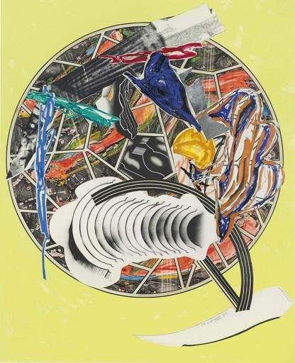 Frank STELLA - Print-Multiple - Whale as a Dish
