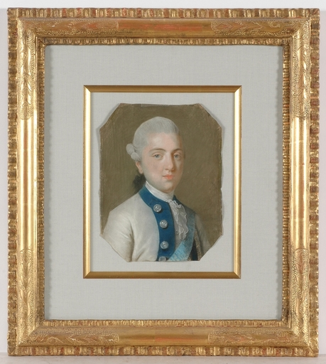 "Miniatur - ""Prince Kazimierz Poniatowski"", Pastel"