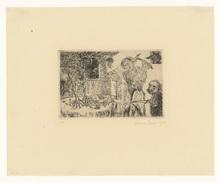 詹姆斯.恩索尔 - 版画 - Les péchés capitaux