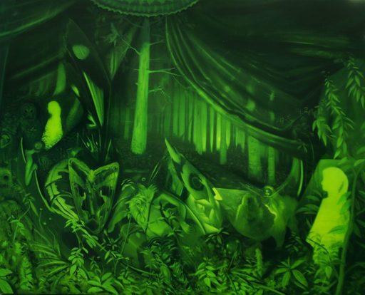 Adrian CAICEDO - Pittura - « Moth »