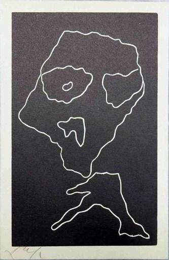 "Hans ARP - Print-Multiple - ""Wortträume"" planche 4"