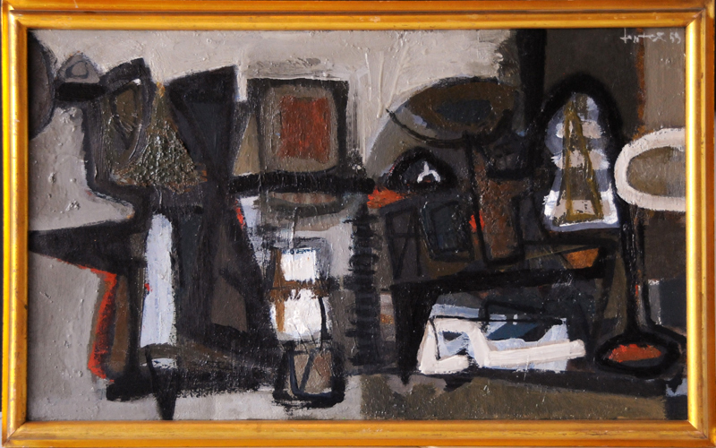 John Harrison LEVEE - Painting - Paris XVI