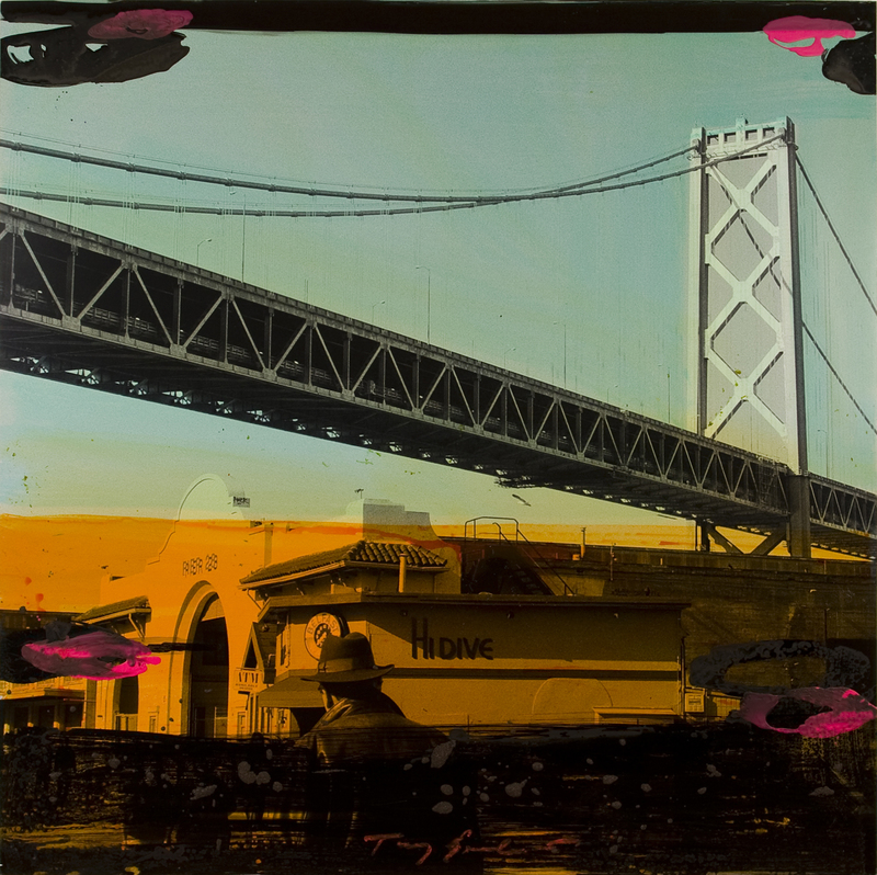 Tony SOULIÉ - Peinture - Untitled -- San Francisco 2012