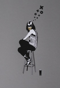 XOOOOX - Grabado - SIT LADY glod