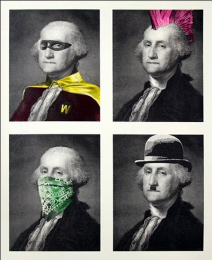 MR BRAINWASH - Print-Multiple - President's Day