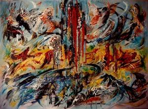 Didier ANGELS - Pintura - Fusion n°2