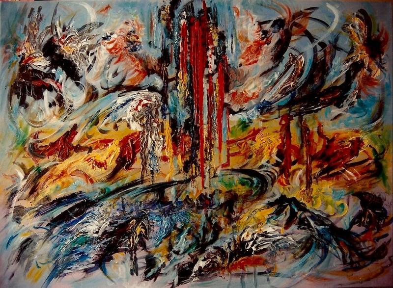 Didier ANGELS - Peinture - Fusion n°2