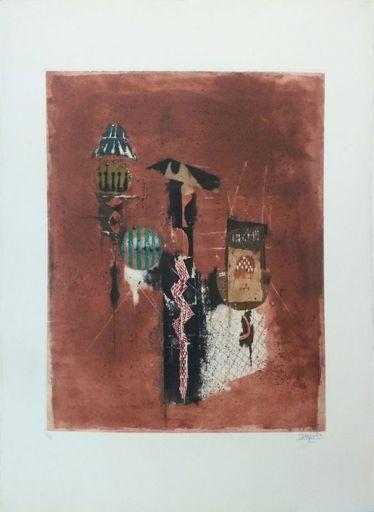 Johnny FRIEDLAENDER - Print-Multiple - Fleurons
