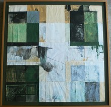 Pedro CANO - Painting - Quattro finestre I
