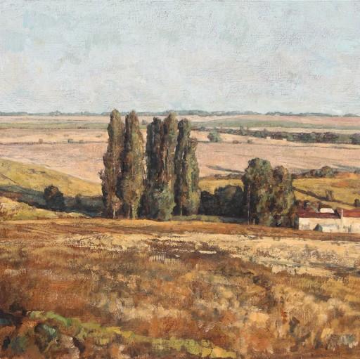 André BOUBOUNELLE - Gemälde - Le vallon ensoleillé aux alentours de la belle Indienne,  20