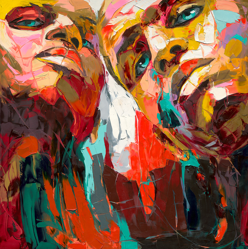Françoise NIELLY - Painting - Untitled 513