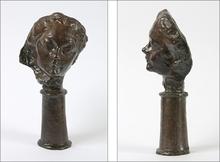 奥古斯特•罗丹 - 雕塑 - Petite tête au nez retroussé