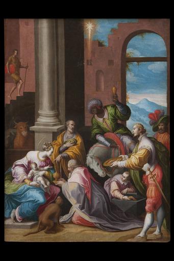 Giovanni Battista DELLA ROVERE - Pintura - Adorazione dei Magi