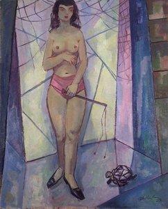 Walter WELLENSTEIN - Gemälde - Dancer