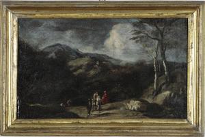 Cornelis VAN POELENBURGH - 绘画 - Senza titolo