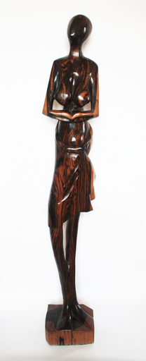 Olalekan GANI OLATUNMBI - Escultura - Girl with a book