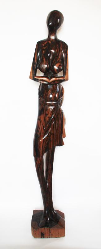 Olalekan GANI OLATUNMBI - Skulptur Volumen - Girl with a book