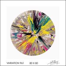John THERY - Pintura - Variation 961