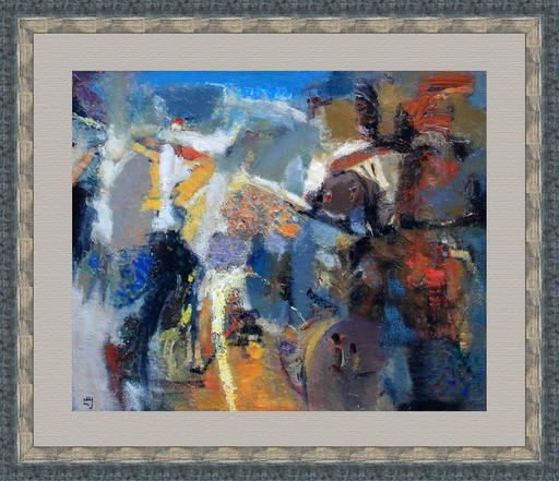 Levan URUSHADZE - Gemälde - Composition # 81