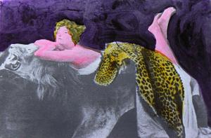 Mario SCHIFANO - Pintura - Colette