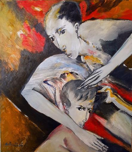 Remo BRINDISI - Gemälde - VINCITORE  E VINTO