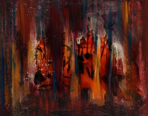 Lydia MOAWAD - Peinture - Hope
