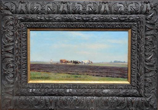 Mikhail Konstantinovich KLODT VON JÜRGENSBURG - Painting - The arable