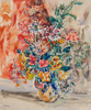 René MORERE - Painting - Bouquet