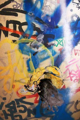 Aurélie LAFOURCADE - Peinture - Femme sur Mur
