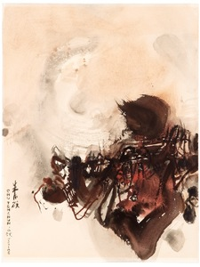CHU Teh-Chun - Drawing-Watercolor - Composition