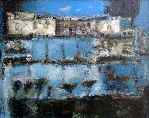 Levan URUSHADZE - Pittura - Cityscape